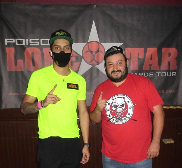 Atencio and Garcia Go Undefeated in Poison Lone Star '21 Comeback Event